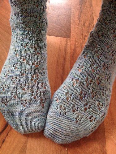 Schneeflocke Stockings