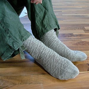 Anton sock knitting patterb