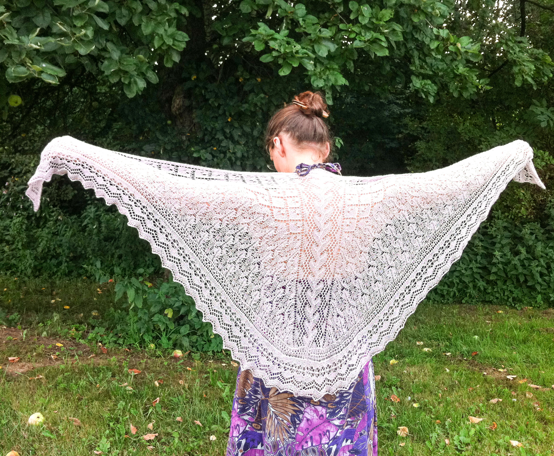 Andrea Shawl Knitting Pattern