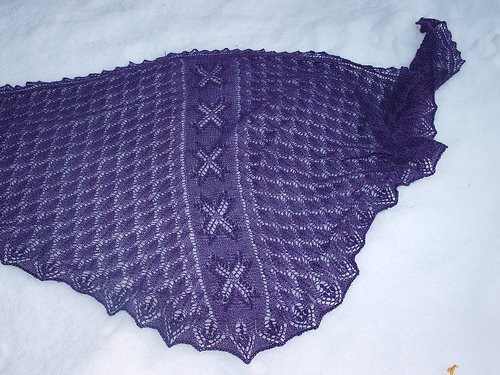 Eliane shawl