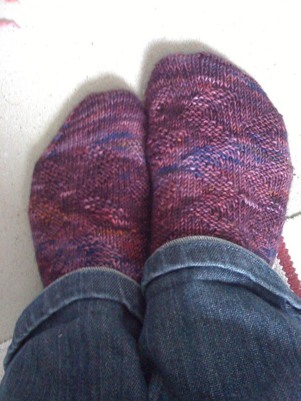 Easy Peasy Zigzag Socks