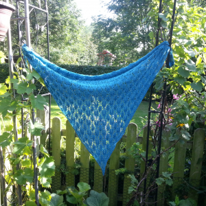 Dora Shawl Knitting Pattern