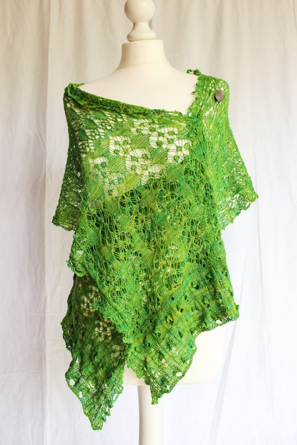 Persia Goes Green shawl