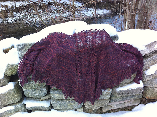 Royals Shawl