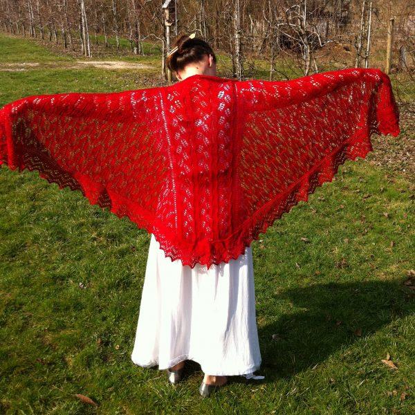 Redwing Faroese shawl