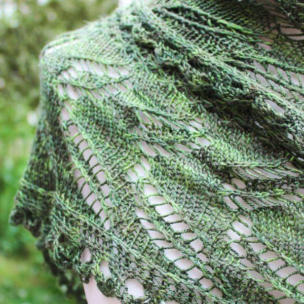 Greenwing Shawl