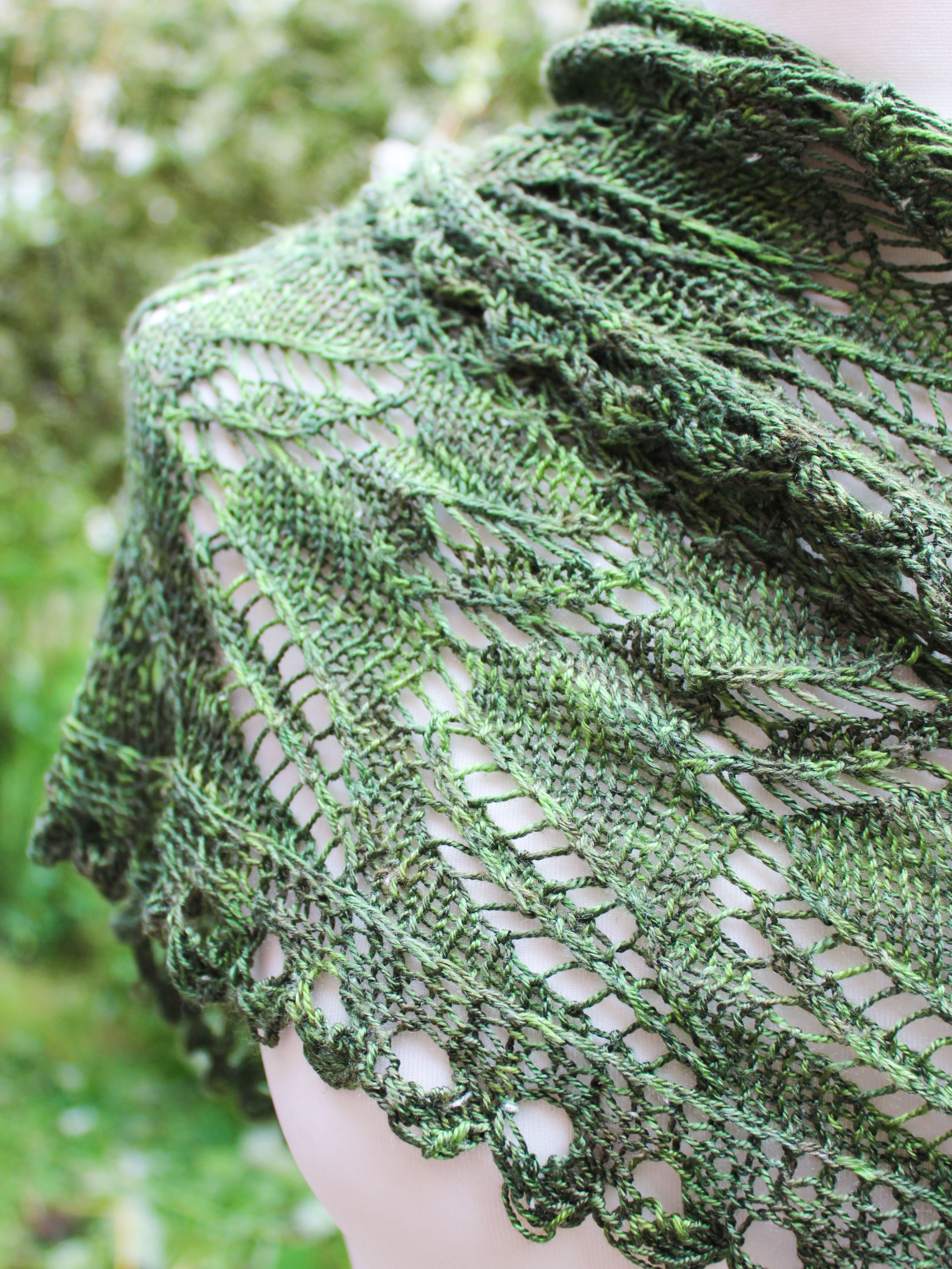 Greenwing Shawl