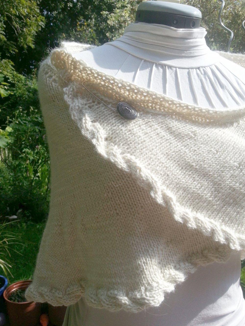 Donegal Shawl Knitting Pattern