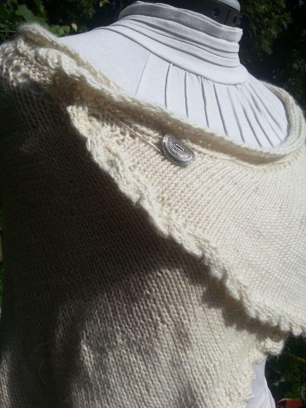 Donegal Shawl Knitting Pattern