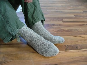 Anton Sock Knitting Pattern