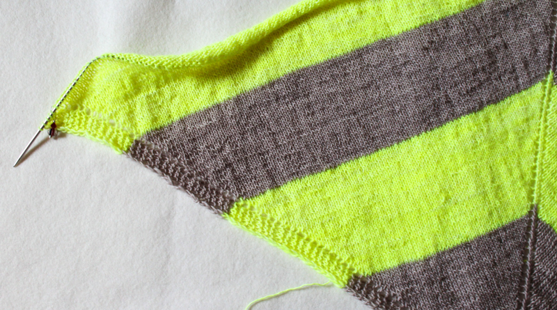 Garter stitch or stockinette stitch - your drawing canvas
