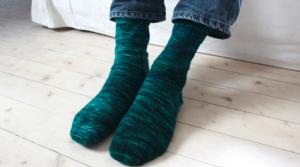 Knitting Sock Heels