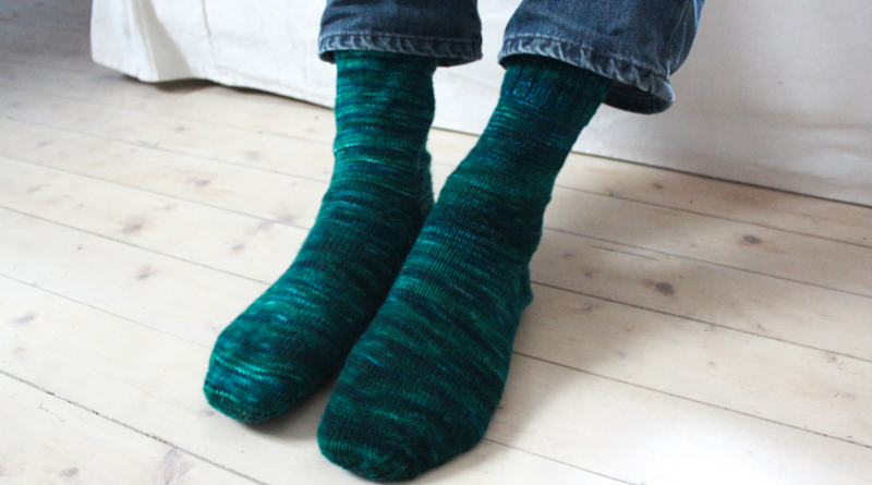 Knitting Sock Heels