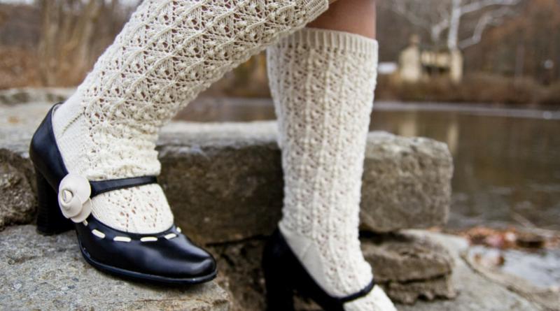 Alpine Fuchsia socks