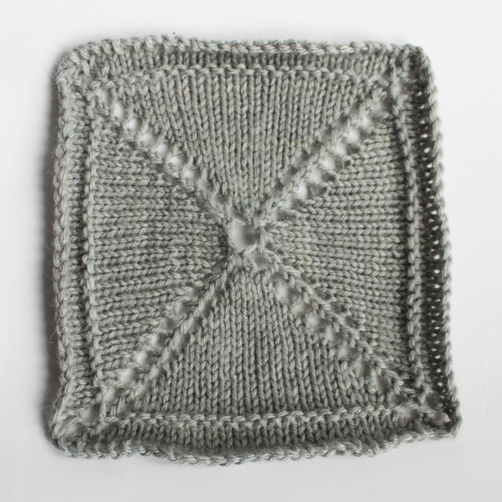 Knitting Square Shawls Center Out