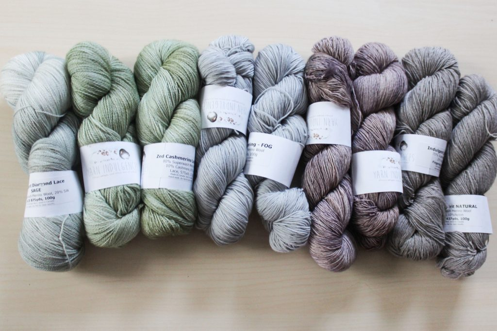 Choosing Yarn for Lace Knitting