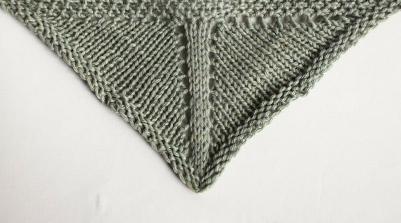 How to Knit Triangle Shawls: Triangle Shawl Design - Knitting.Today