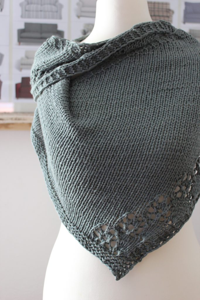 Flower Cornucopia Shawl Pattern