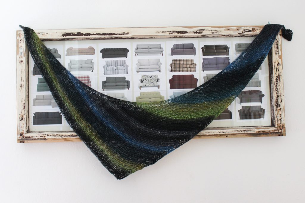 Basic Cornucopia Shawl Pattern