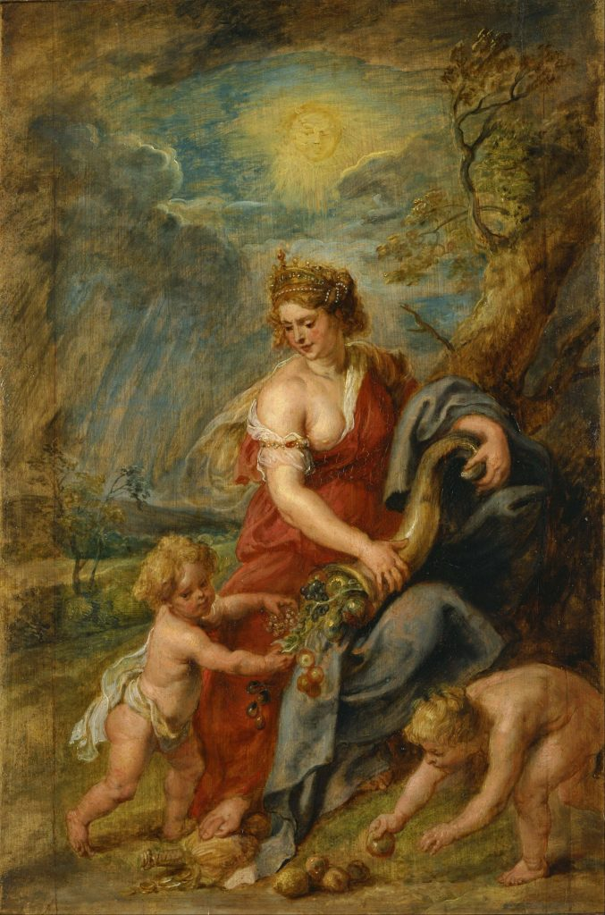 Peter Paul Rubens - Abundance (Google Art Project)