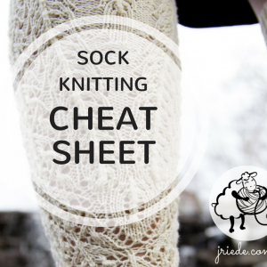 Sock Sizing Cheat Sheet
