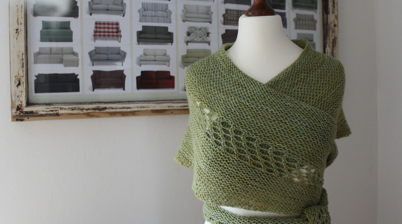 Knitting Crescent Shawls the Austrian Way