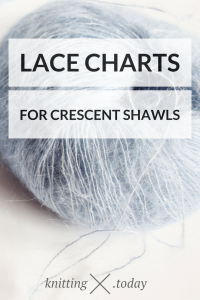 Lace Knitting and Crescent Shawls