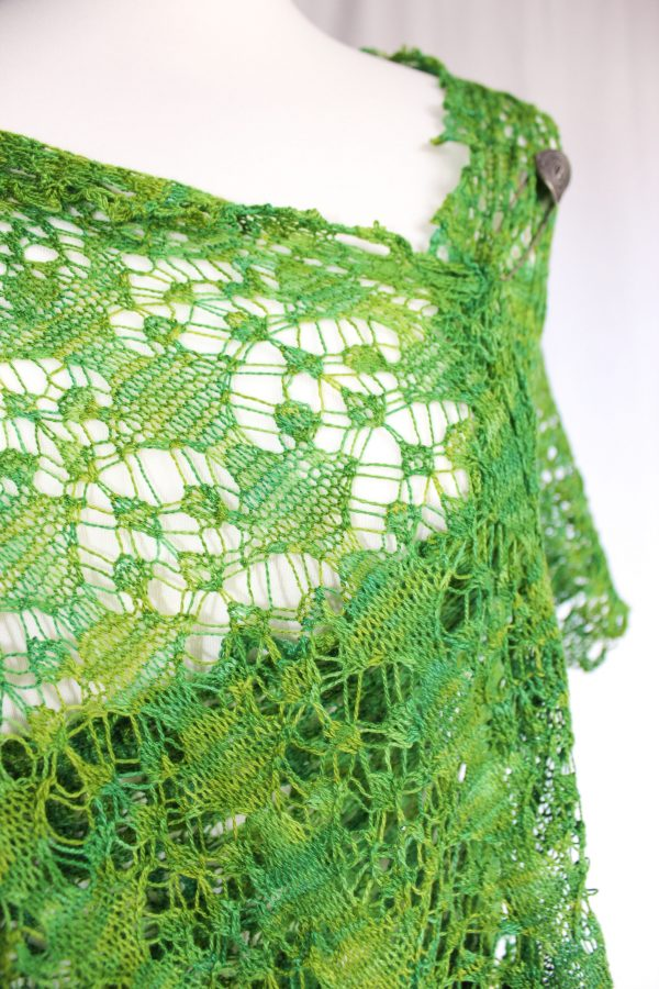 Persia Goes Green shawl