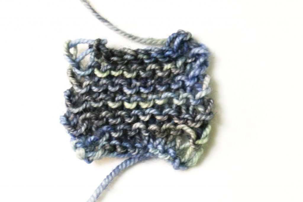 Knitting clean edges