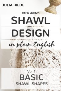 Shawl Design in Plain English Cover Contest
