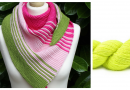 Adjustable Triangle Shawls - Resizing Triangle Shawls