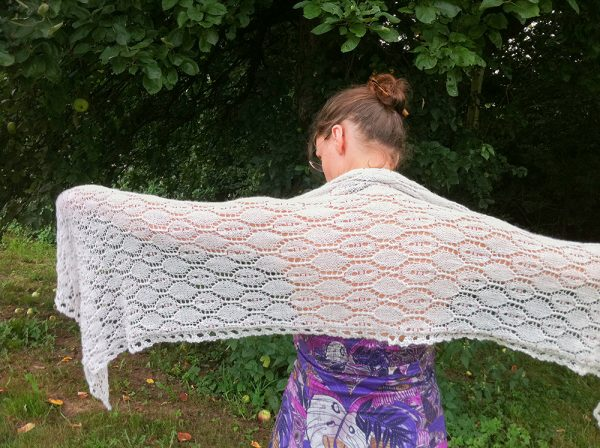 Hexagon shawl