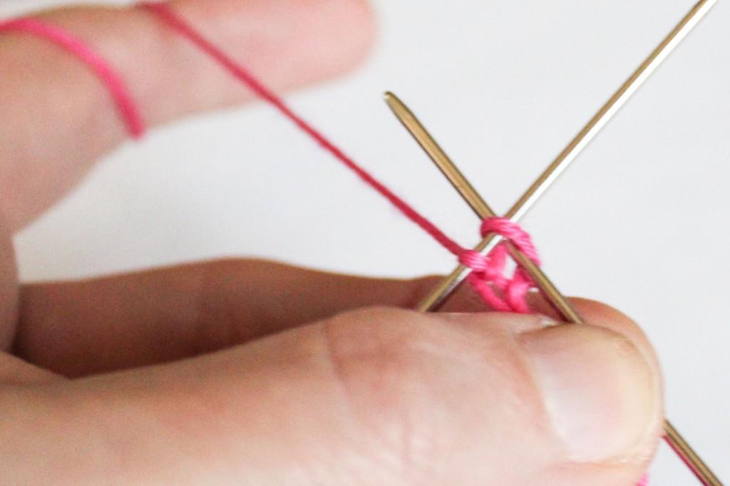 Knitting sock cuffs: Picot bind off