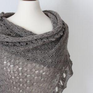 The Indulgent Spirit shawl knitting pattern