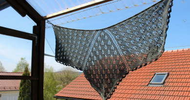 Knitting Spacecrafts: New Creative Shawl Shapes