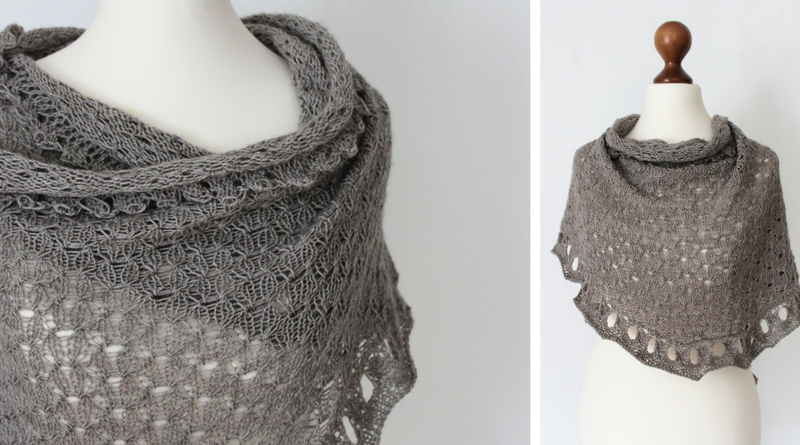 The Indulgent Spirit shawl knitting pattern