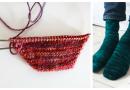 Toe Shaping for Knitted Socks