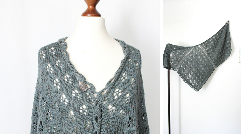Bird of Prey shawl pattern release