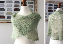 Meet Green Linen, The Latest Plant Anatomy Shawl