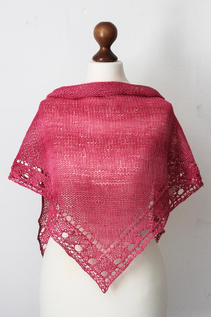 Knitting Pattern 1000 : Shawl knitters new pattern release knitting today