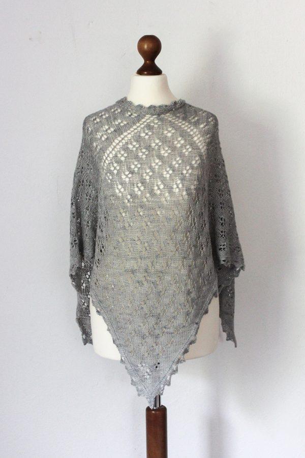 Allium Fog shawl