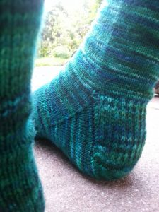 How to Knit Sock Heels