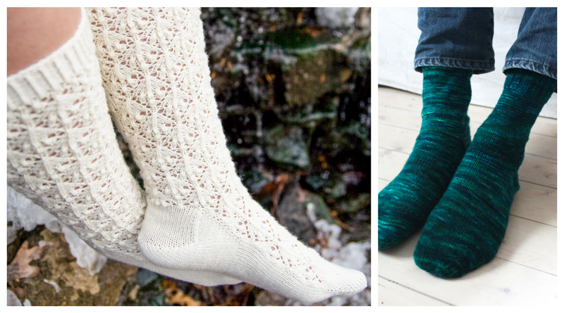 Sock Shaping: Sole and Instep