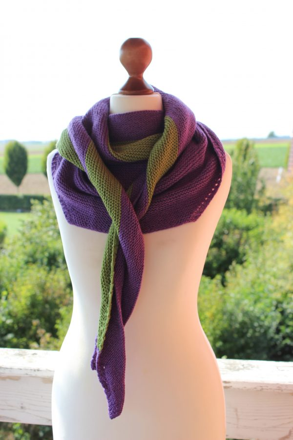 Generator shawl knitting pattern