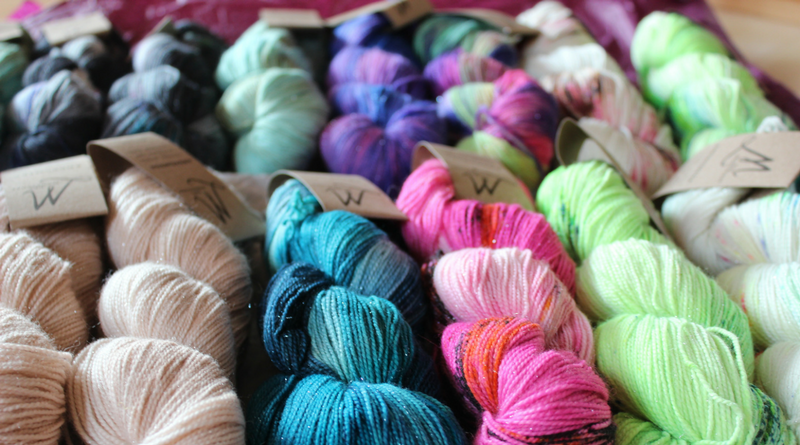 Shawl Knitting From Stash