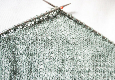 Size Adjustments for Shawl Knitting From Stash