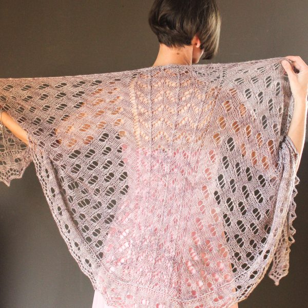 Plant Cartilage shawl knitting pattern