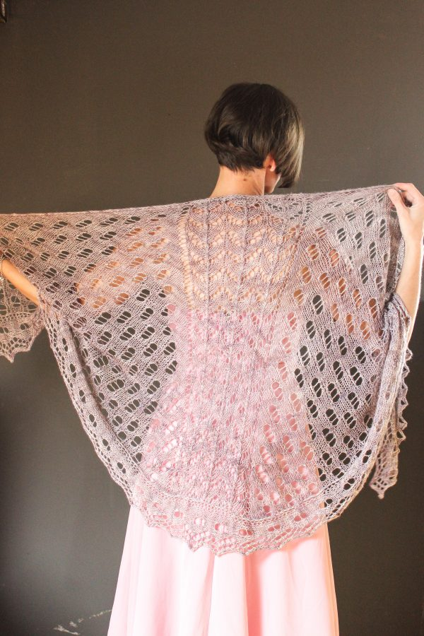 Plant Cartilage shawl knitting pattern