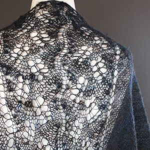 Northern Light shawl knitting pattern
