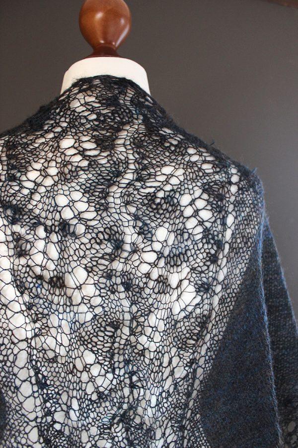 Northern Light shawl knitting pattern